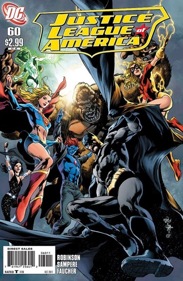 Justice League of America Cover - 10/1/2011