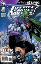 Justice League of America Comic 9/1/2011