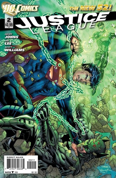 Justice League Cover - 12/1/2011