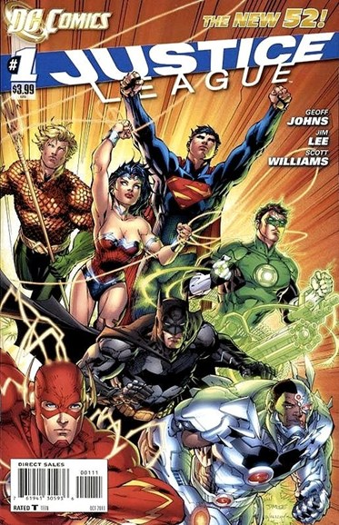 Justice League Cover - 11/1/2011