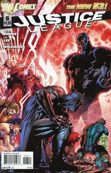 Justice League Cover - 4/1/2012