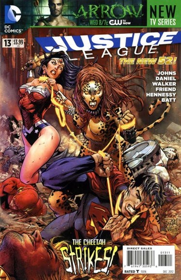 Justice League Cover - 12/1/2012