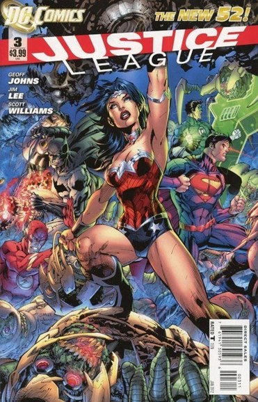 Justice League Cover - 1/1/2012