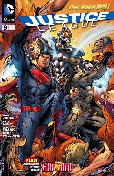 Justice League Cover - 7/1/2012