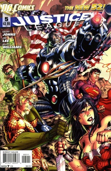Justice League Cover - 3/1/2012