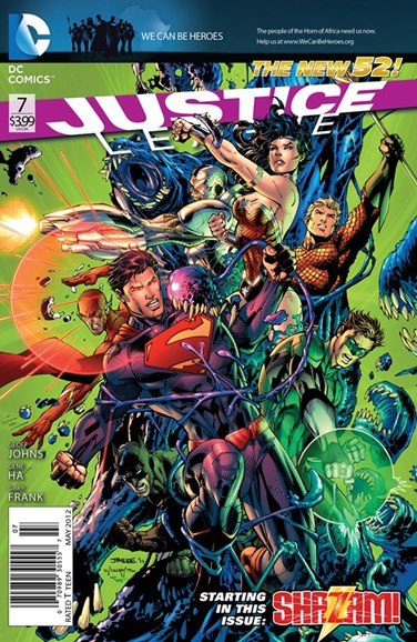 Justice League Cover - 5/1/2012