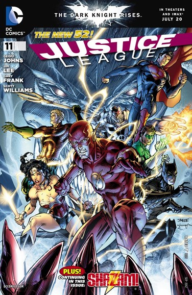 Justice League Cover - 9/1/2012