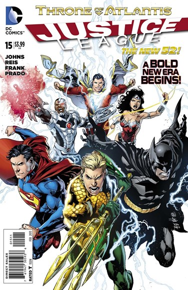 Justice League Cover - 2/1/2013