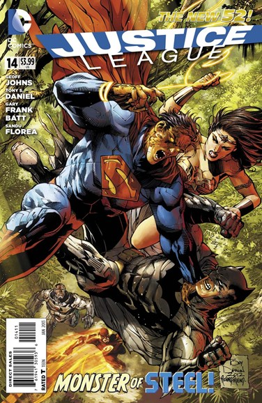Justice League Cover - 1/1/2013