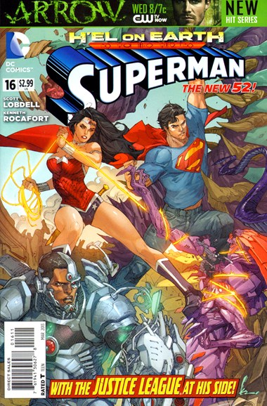 Superman Cover - 3/1/2013