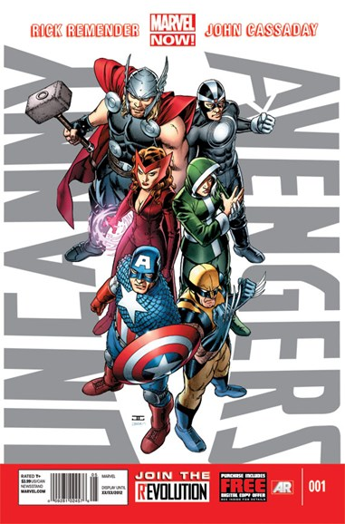 Uncanny Avengers Cover - 12/1/2012