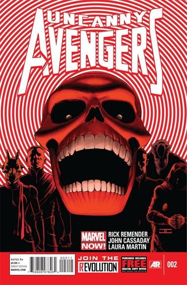 Uncanny Avengers Cover - 1/1/2013