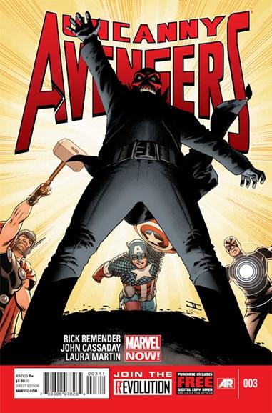 Uncanny Avengers Cover - 3/1/2013