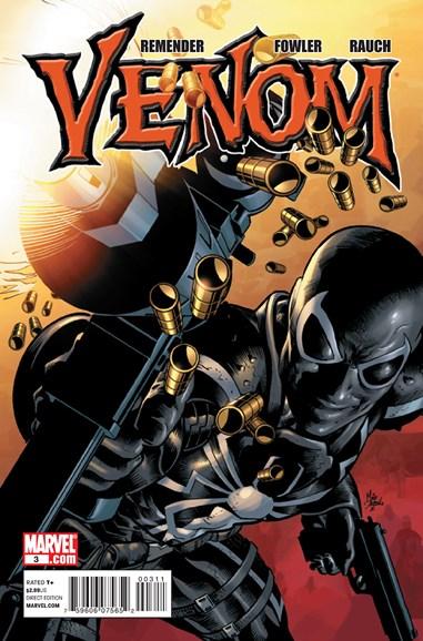Venom Cover - 7/1/2011