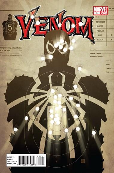 Venom Cover - 9/1/2011
