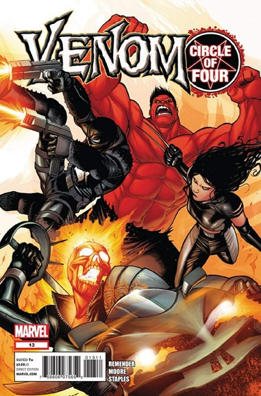 Venom Cover - 4/1/2012