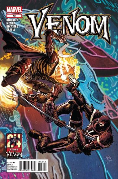 Venom Cover - 3/1/2012