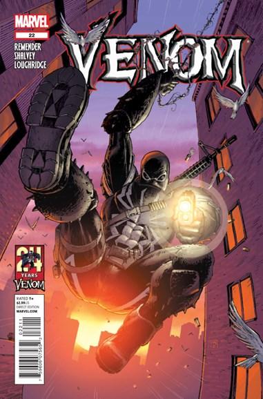 Venom Cover - 10/1/2012