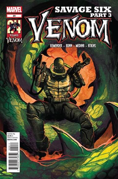Venom Cover - 9/1/2012