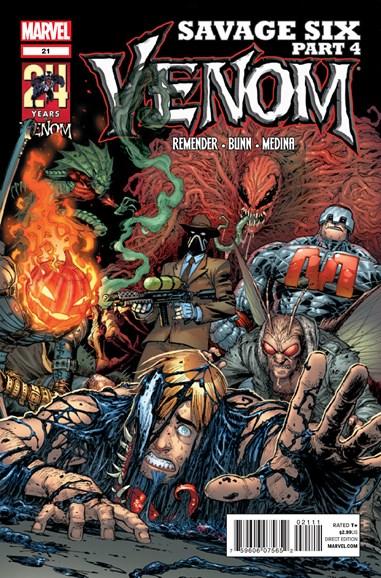 Venom Cover - 9/15/2012