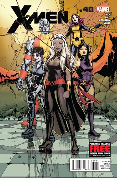 X-Men Gold Cover - 3/1/2013