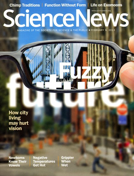 Science News Cover - 2/9/2013