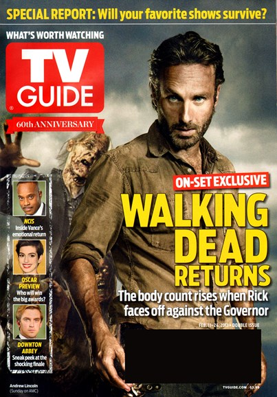 TV Guide Cover - 2/11/2013