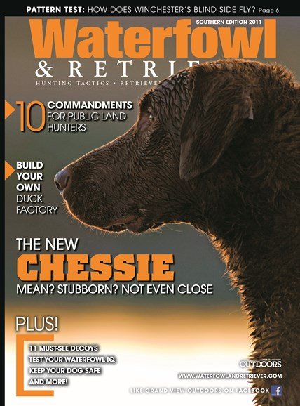Waterfowl & Retriever Cover - 9/1/2011