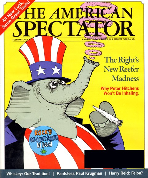 The American Spectator Cover - 2/1/2013