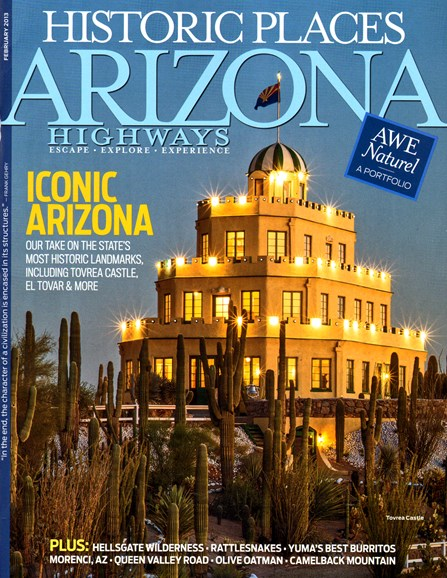 Arizona Highways Cover - 2/1/2013