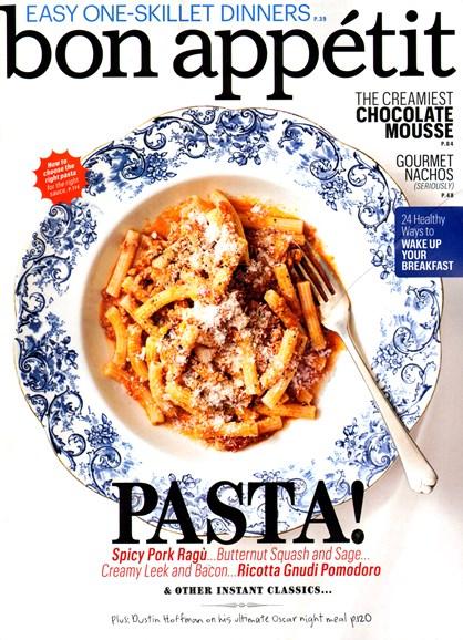 Bon Appétit Cover - 2/1/2013