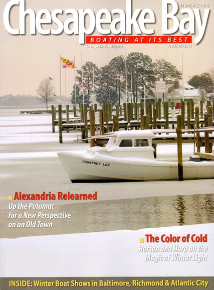 Chesapeake Bay Cover - 2/1/2013