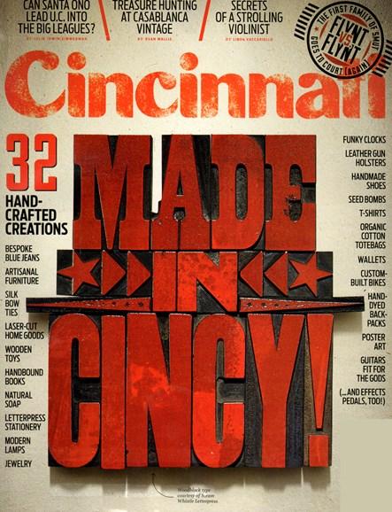 Cincinnati Cover - 2/1/2013