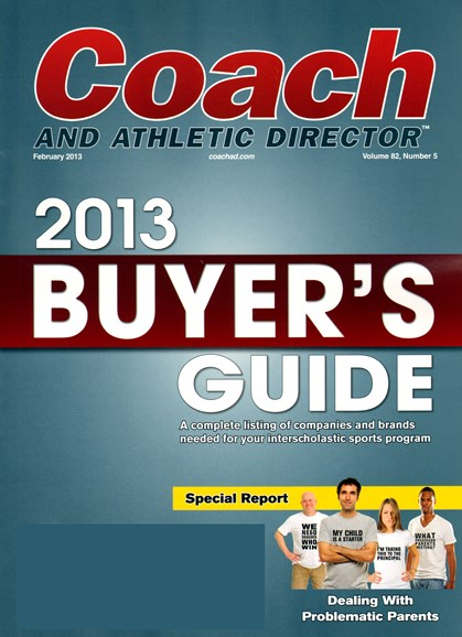 Coach & Athletic Director Cover - 2/1/2013