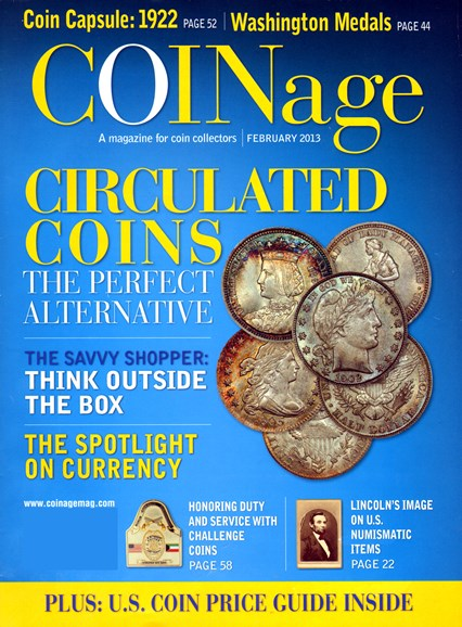 Coinage Cover - 2/1/2013