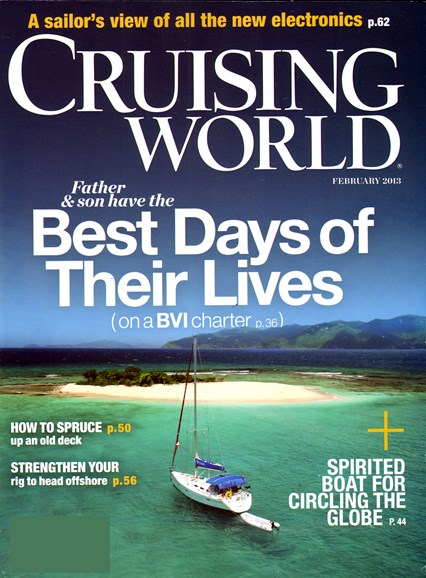 Cruising World Cover - 2/1/2013