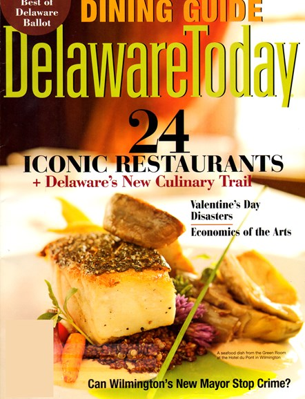 Delaware Today Cover - 2/1/2013