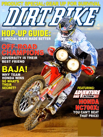 Dirt Bike Cover - 2/1/2013