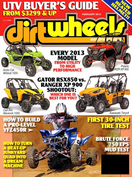 Dirt Wheels Cover - 2/1/2013