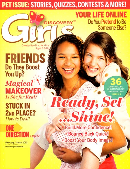 Discovery Girls Cover - 2/1/2013
