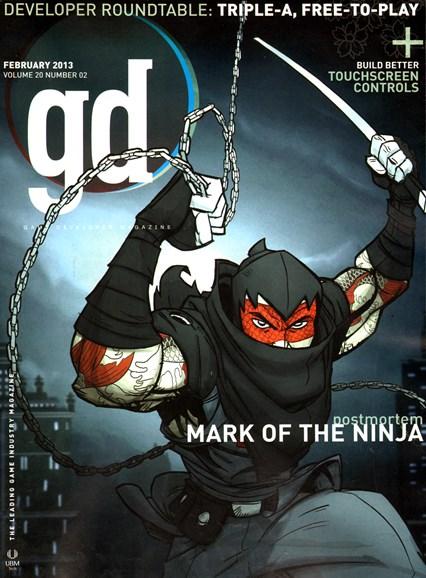 Game Developer Cover - 2/1/2013