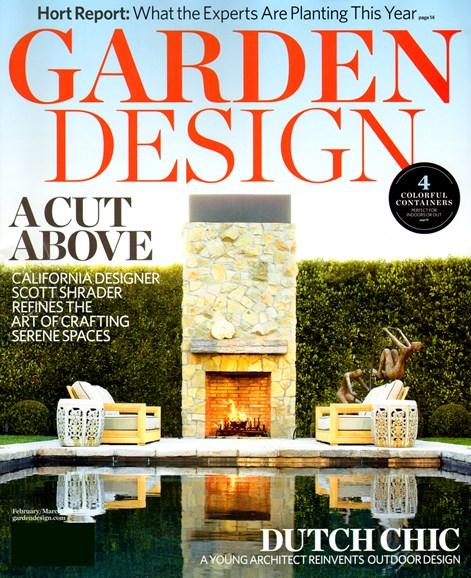 Garden Design Cover - 2/1/2013