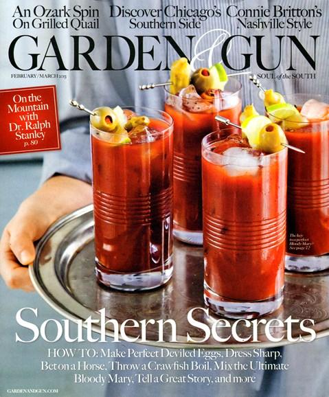 Garden & Gun Cover - 2/1/2013