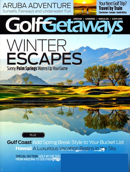 Golf Getaways Cover - 2/1/2013