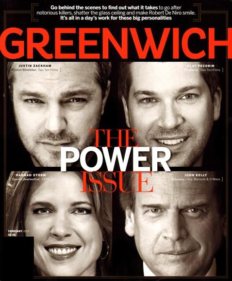 Greenwich Cover - 2/1/2013