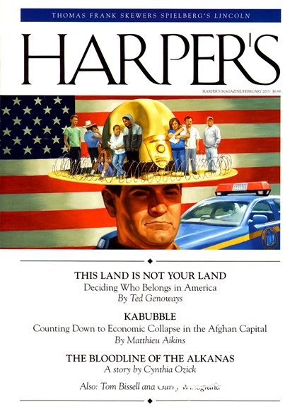 Harper's Cover - 2/1/2013