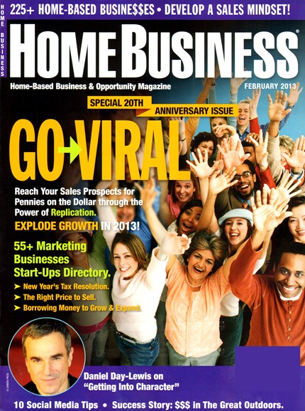 Home Business Magazine Cover - 2/1/2013