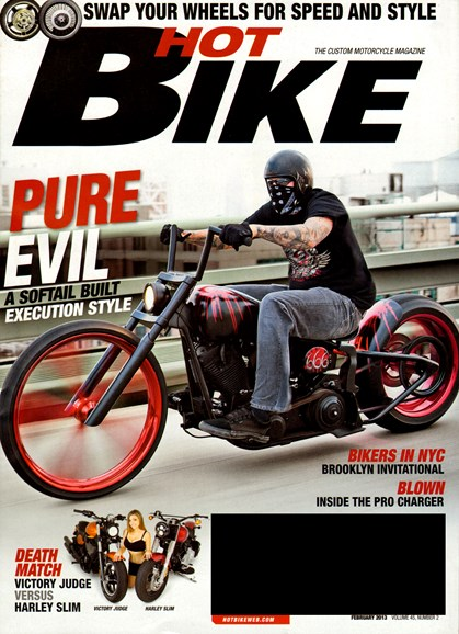 Hot Bike Cover - 2/1/2013