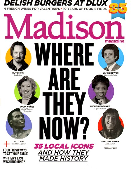 Madison Magazine Cover - 2/1/2013