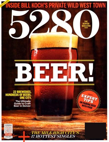 5280 Magazine Cover - 2/1/2013